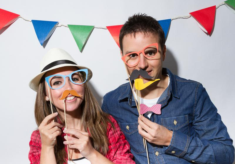 texas photo booth props  79801